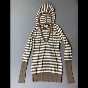 American Eagles Outfitters striped hoodie